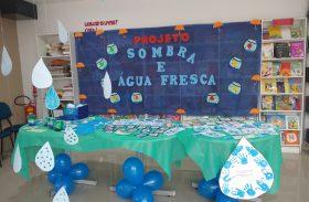 """Os alunos da Educação Infantil trabalharam o projeto """"Sombra e Água Fresca"""""""